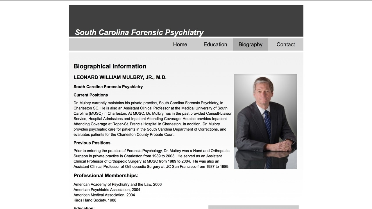SC Forensic Psychiatry