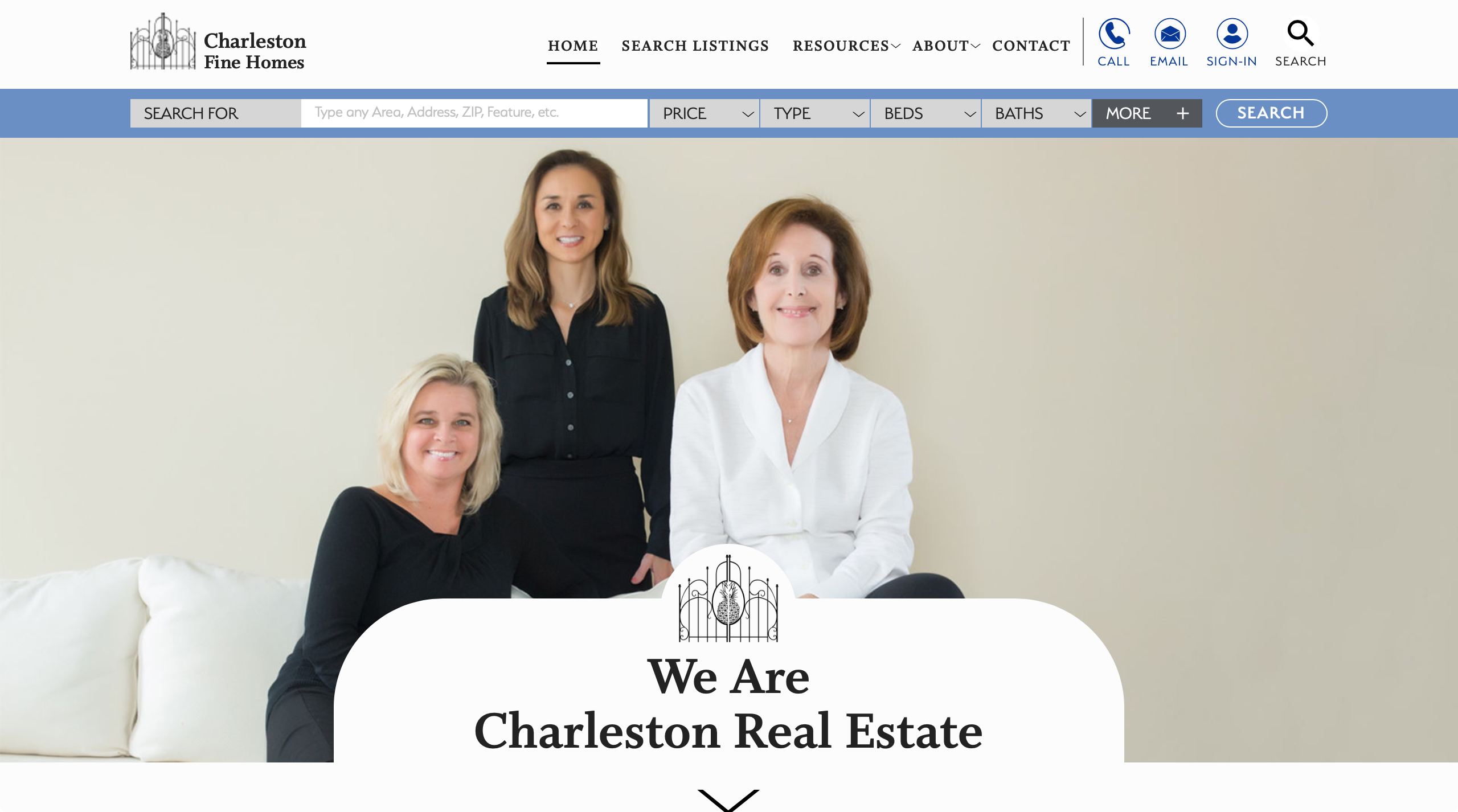 Charleston Fine Homes Real Estate